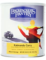Backpacker\'s Pantry Katmandu Curry, 33 Ounce, # 10 Can