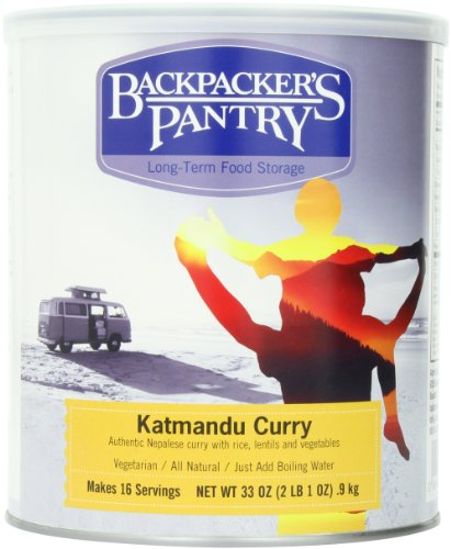 Backpacker's Pantry Katmandu Curry, 33 Ounce, # 10 - For You What Trip Camping Need