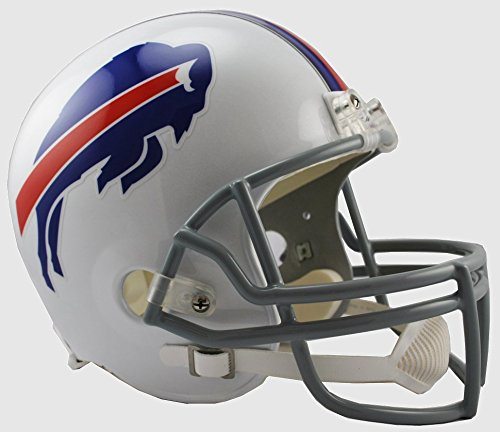 - NFL Buffalo Bills Deluxe Replica Football Helmet