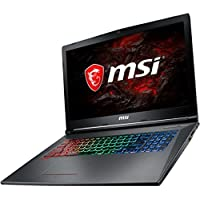 MSI GF72VR650 17.3-inch High Performance Gaming and Business VR Ready Computer (Intel i7 Quad Core, 32GB RAM, 2TB HDD + 1TB SSD, 17.3 FHD 1920x1080 Display, NVIDIA GeForce GTX1060 6GB, Win 10 Home)