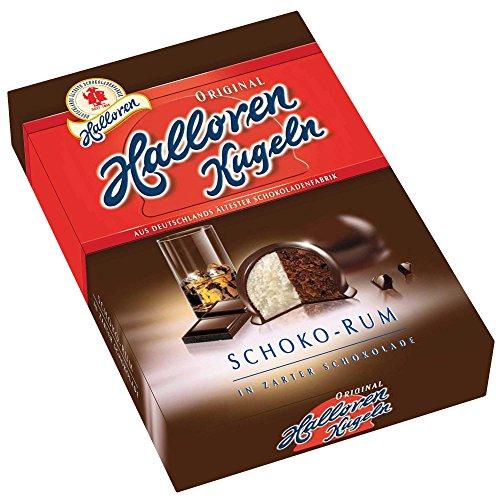 Halloren balls chocolate rum 125g