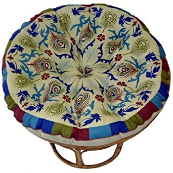Stupendous Cotton Craft Papasan Peacock Sage Overstuffed Chair Cushion Sink Into Our Thick Comfortable And Oversized Papasan Pure 100 Cotton Duck Fabric Beatyapartments Chair Design Images Beatyapartmentscom