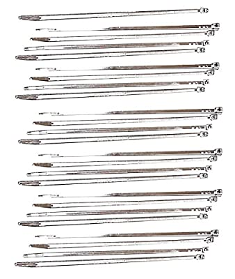Taylor Cable 43083 Chrome 8 Wire Tie Strap - Pack of 10