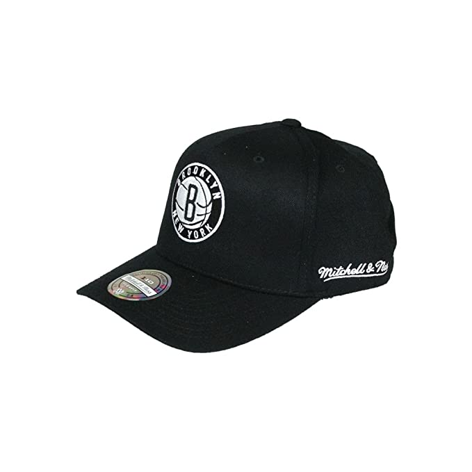 Mitchell   Ness Gorras Brooklyn Nets Eazy Black 110 Adjustable ... 7dcaa5ebffe