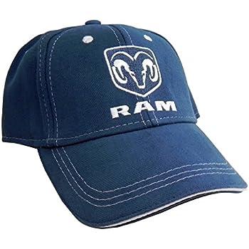 8cc9c669e31 Amazon.com  Dodge RAM Logo Black Baseball Hat