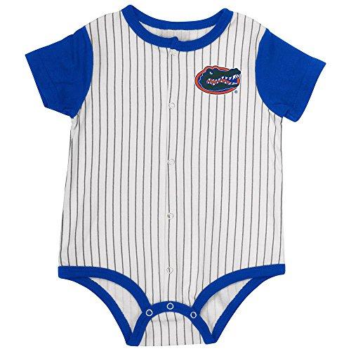 Colosseum Infant Florida Gators Baseball Pinstripe Bodysuit - 6 to 12 Months