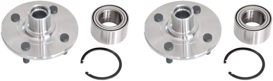 2002 For Saturn SC2 Front Wheel Bearing and Hub Assembly x 2