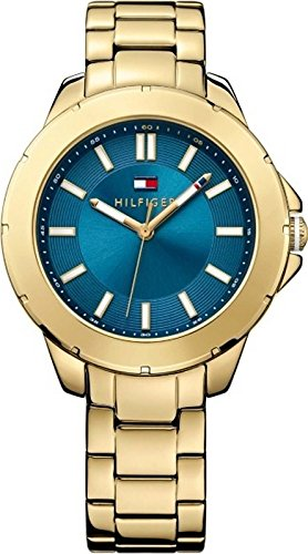Tommy Hilfiger Three-Hand Gold-Tone Stainless Steel Women's watch #1781433