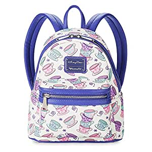 Loungefly Alice in Wonderland Mad Tea Party Mini Backpack