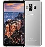 "M-Horse Pure 1 - 5.7 ""IPS (18: 9 Ratio) schermo Android 7.0 4G smartphone, batteria 4380mAh Quad Core 3 GB + 32 GB, quattro fotocamera - Grigio"