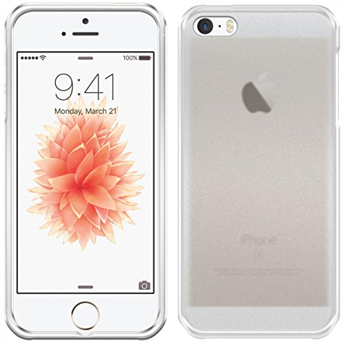 eFabrik Bumper für Apple iPhone SE Case - kompatibel mit iPhone 5S / 5 Hülle Tasche Schale Cover Hardcase Hardcover