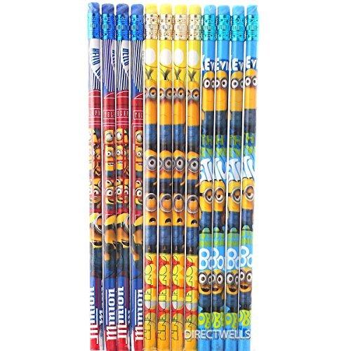 Minions Disney (Despicable Me Minions 12 Wood Pencils Pack)