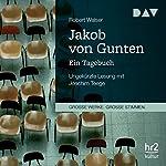 Jakob von Gunten: Ein Tagebuch | Robert Walser