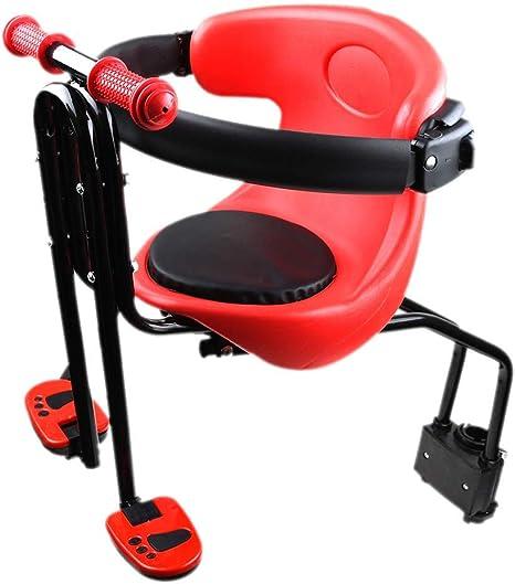 Rziioo Sillín de Bicicleta de bebé Niños de Seguridad para niños ...