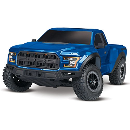 Traxxas 58094-1 2WD Ford Raptor with TQ 2.4GHz Radio System (1 10 Scale) - Lightning Blue