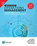 img - for Operations Management Sustainability And Supply Chain Management book / textbook / text book