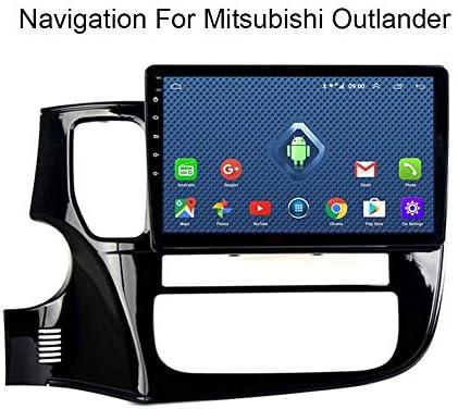 三菱アウトランダー2014-2018カーステレオGPSナビゲーション用Android 8.1カーラジオ10.1インチタッチディスプレイカーメディアプレーヤーサポートスクリーンミラーWiFi Bluet,Wifi:1+16g