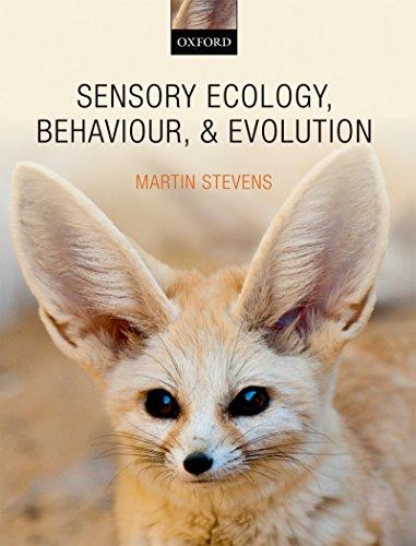 Download Sensory Ecology, Behaviour, and Evolution Pdf