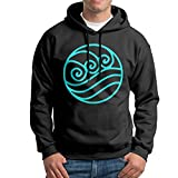 Boy Cartoon Avatar The Last Airbender Water Logo Cool Hooded Sweatshirt Pullover