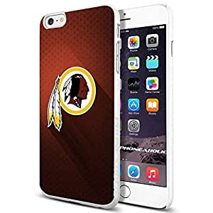 diy zhengNFL Washington Redskins , , Cool iphone 5c Smartphone Case Cover Collector iphone TPU Rubber Case White [By PhoneAholic]