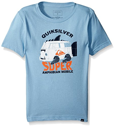Quiksilver Little Boys' Amphibian Tee, Dusk Blue, 7