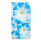 Lomogo Galaxy A10 Case Leather Wallet Case with Kickstand Card Holder Shockproof Flip Case Cover for Samsung Galaxy A10 - LOYHU020158 L8