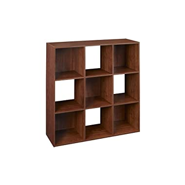 ClosetMaid 4105 Cubeicals Organizer, 9-Cube, Dark Cherry