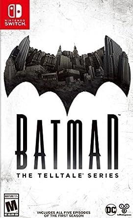 Warner Bros Batman The Telltale Series Antología Nintendo Switch ...