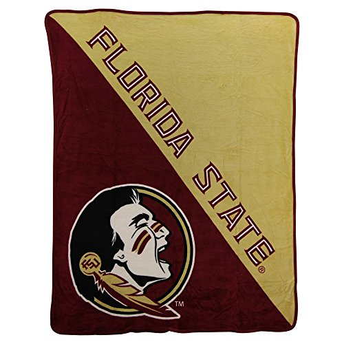 The Northwest Company NCAA Collegiate Half Tone Super Soft Plush Throw Blanket (Florida State Seminoles) ()