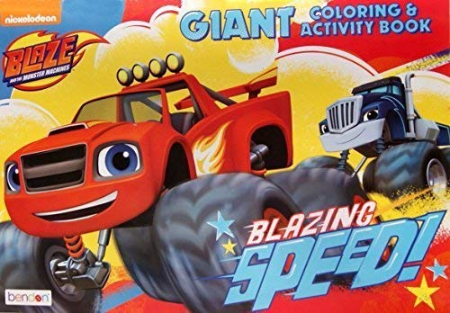 Blaze and the Monster Machines Giant Coloring and Activity Book - 11