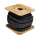 50 Heavy Duty Roller Chain 50 Feet with 5 Connecting Links, 50H Chain