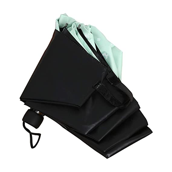 Amazon.com: LEIAZ Umbrella, Sun Umbrella, Tri-Fold Umbrella ...