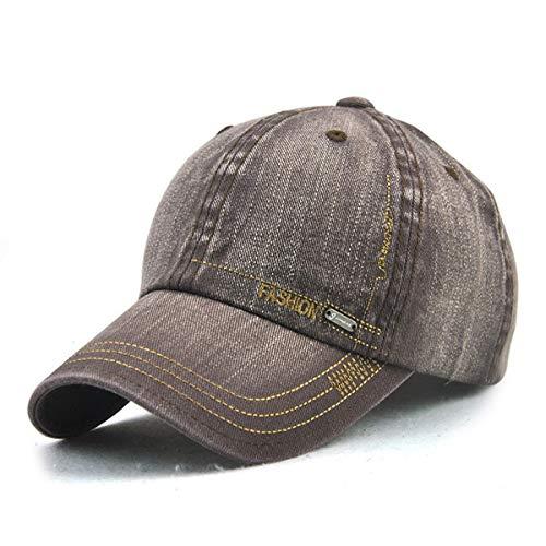 GLLH al de E Sol Sombrero hat sólido Sombrero Sombreros Viejo Casquillo de los Ocio Simple Aire de E Color béisbol Libre del qin Hombres r4qCr