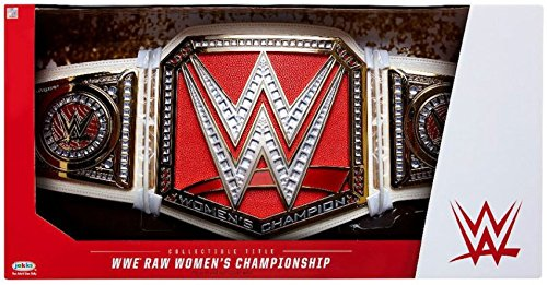 WWE Raw Women's Championship Collectible Role Play Title Belt by Mattel Toys
