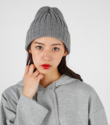 Tricot Automne Hat hiver Acvip Femme Cap Chapeau Bonnet Gris Chaud qFwnwP4EvZ
