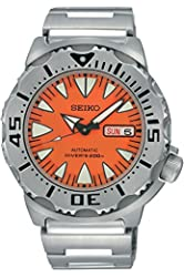 SEIKO SRP309K1,Men's Automatic Dive,Stainless steel case & Bracelet,Screw Crown,200m WR,SRP309