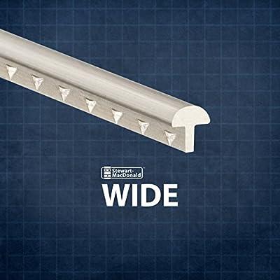 StewMac Wide Fretwire, Wide/Medium, 2-foot piece - 3 pack