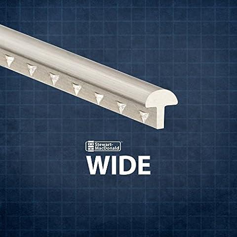 StewMac Wide Fretwire, Wide/Highest, 2-foot piece - 3 pack (Ukulele Fret Wire)
