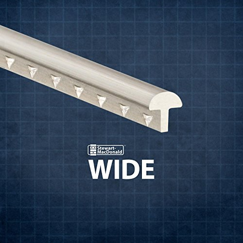 StewMac Wide Fretwire, Wide/Highest, 2-foot piece - 3 pack