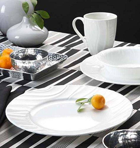 CORELLE Boutique Swept Embossed 16-pc Dinnerware Set by CORELLE