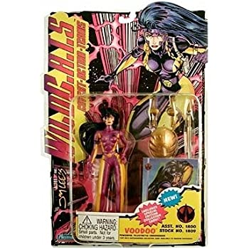 Amazon Com Wild C A T S Voodoo Action Figure Toys Amp Games
