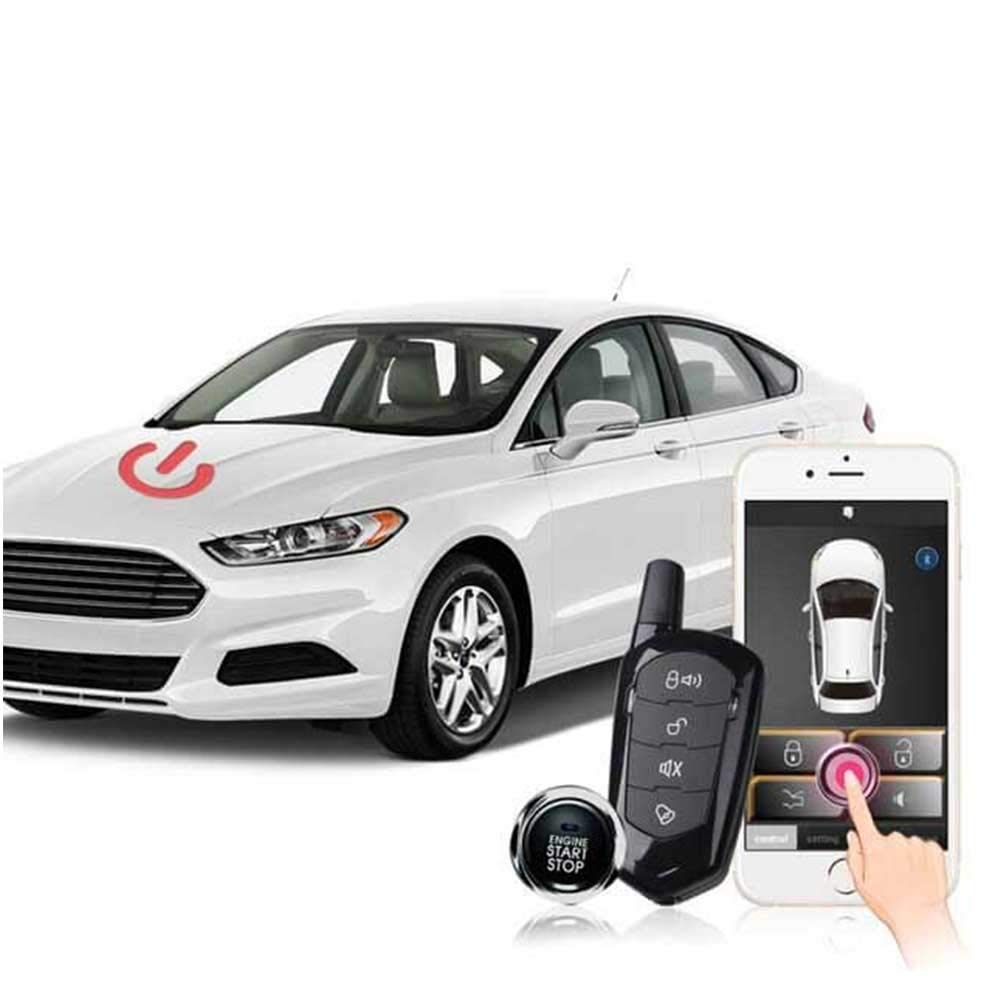 Remote Car Starter App >> Amazon Com Universal Remote Car Starter For Smartphone App