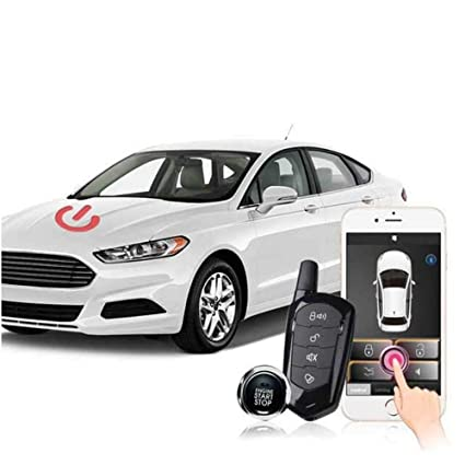 Remote Car Starter App >> Amazon Com Universal Remote Car Starter For Smartphone App Keyless