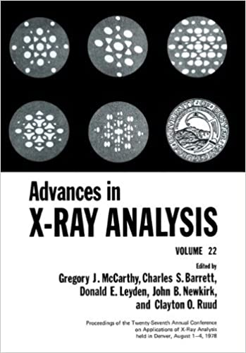 Book Advances in X-Ray Analysis: Volume 22