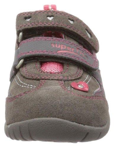 Superfit Sport3 10013506 Mädchen Sneaker Grau (stone kombi 06)