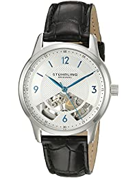 Men's 977.01 Legacy Analog Display Mechanical Hand Wind Black Watch