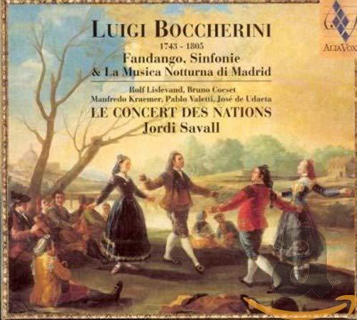 Boccherini: Fandango Sinfonie La Madrid Finally resale start Musica di Sales for sale Notturna