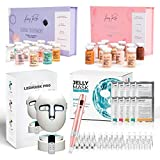 Avery Rose BB Glow Starter kit + Avery Derma Pen with 10 X 36 pin, 10 X Nano-pin, 10 X of 12 pin + Serum Treatment kit with 12 vials + Jelly Mask 10 Treatments + LED Mask Pro with remote control