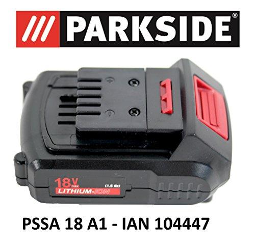 Parkside Batterie 18V 1,5Ah Pap 18–1.5A1pour pssa 18A1–Ian 104447Batterie Scie sabre