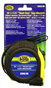 25ft X 1in Read Easy Tape Measure